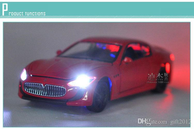 Online Cheap Best Sale Maserati Gt Granturismo 1:32 Metal Car Model Pull  Back Sound Light Kids Toy Supercar Collection Boy By Gift2012 | Dhgate.Com