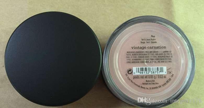 Minerales rubor / fauxtan bronceador / clavel vintage / encender / promesa / resplandor de rosa / melocotón vintage / risa / puerta de oro / calor / alegre 0,85 g.