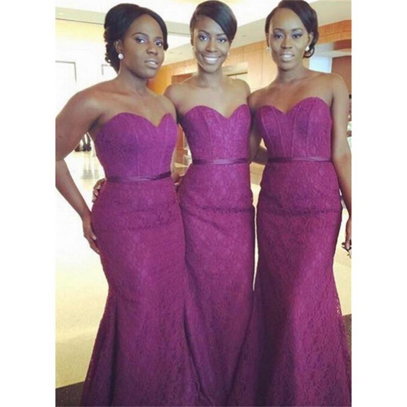 Famoso Vestido De La Dama De Honor Púrpura Oscuro Molde - Ideas para ...