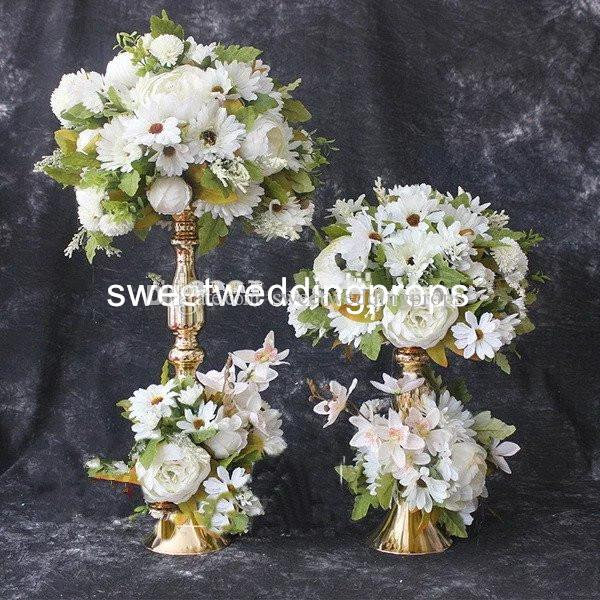 No Flowers Including Hot Sale Mental Centerpieces Table Decoration Flower Stand For Wedding Favors Baby Party Supplies Baby Shower Party Supplies From