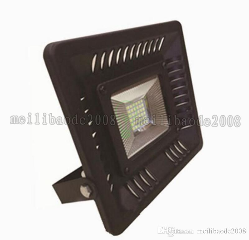 Los nuevos focos para exteriores Ultrathin LED llegan 3528 SMD 50W Lámparas de jardín livianas impermeables para jardín, cálidas / blancas MYY