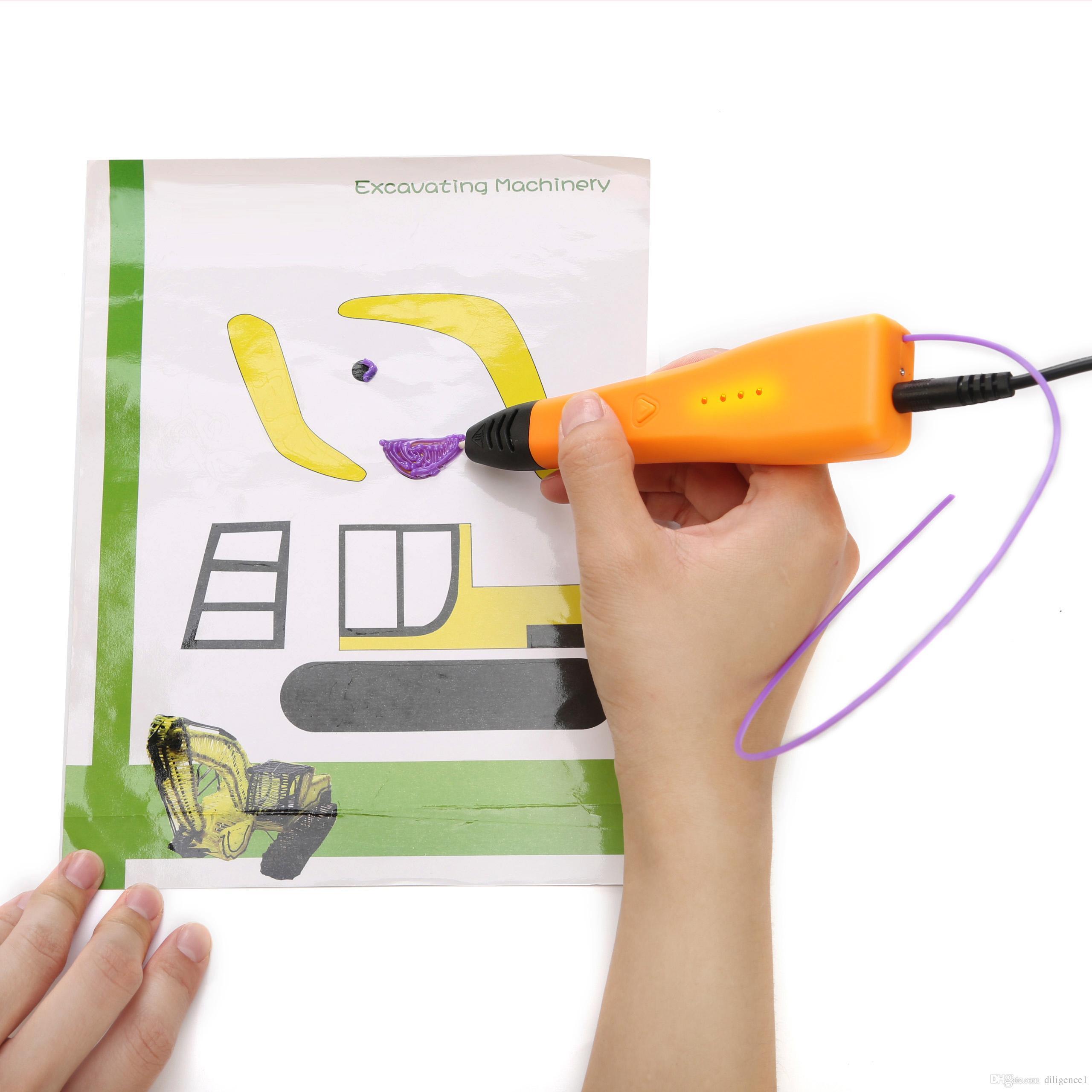 Gift 3d Printer Pen 3d Pen Drawing Pen Easy Handling For Children