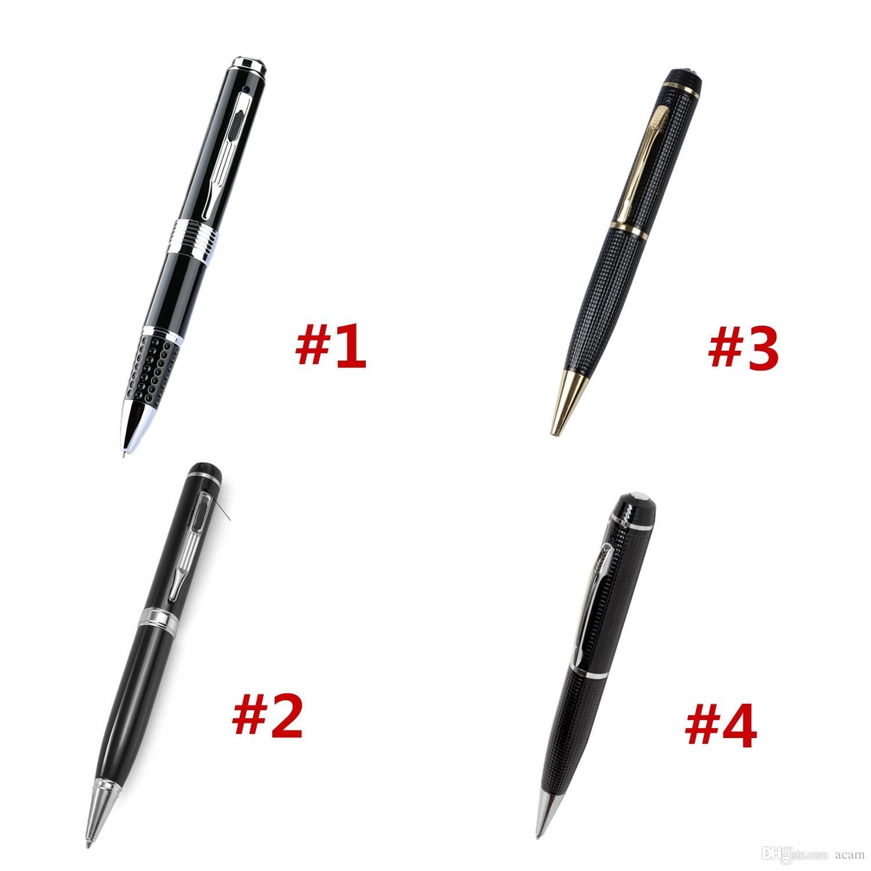 4 Styles Pen Camera 5 Mega Pixels Portable Camera Pen 1080P HD Video Camera Recorder DVR