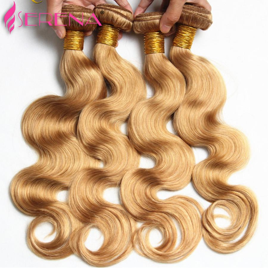 """60% OFF! Honey Blonde Extensions Peruvian 10""""-30"""" Human Hair Weave Weft #Hair Extension Body Wave Wet and Wavy bridal"""