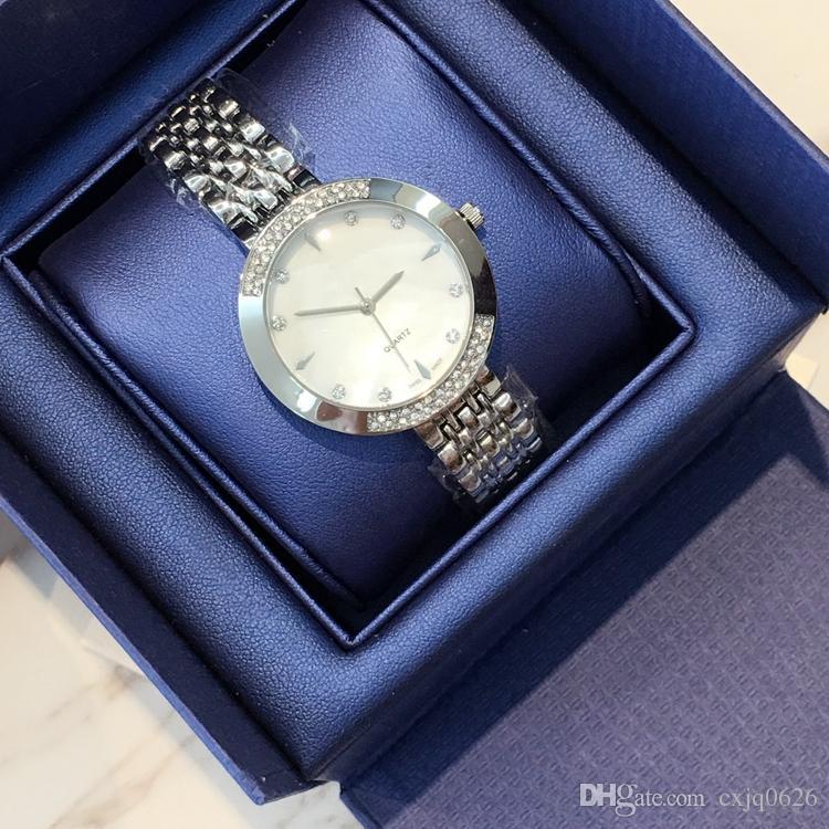 Top brand New model Luxury dropshipping Fashion lady dress watch Famous full diamond Jewelry nice Women watch High Quality wholesale price