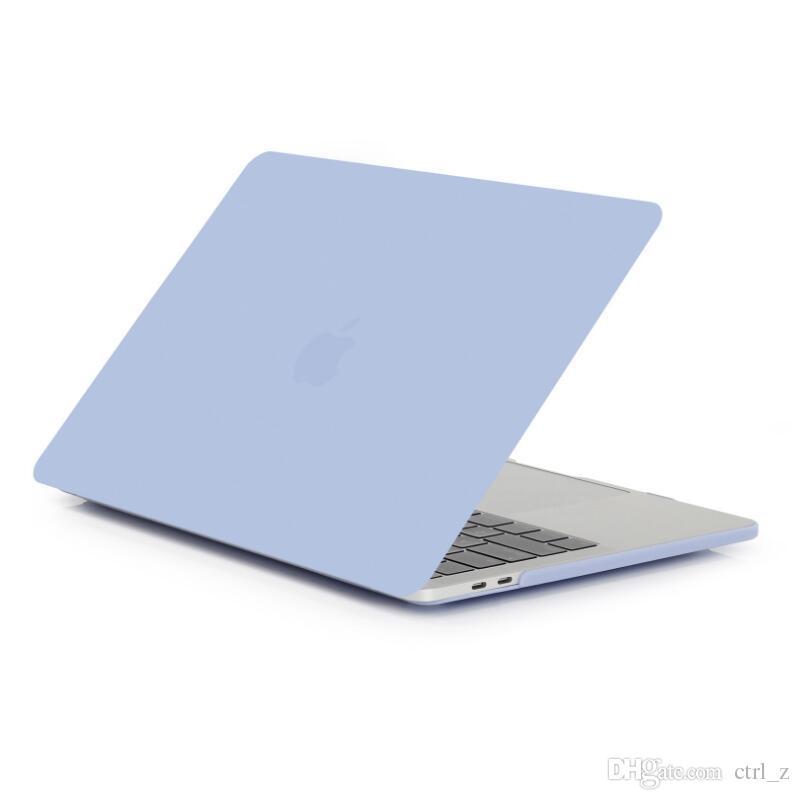 Custodia in cristallo nero opaco il 2016 Nuova custodia MacBook Pro 13 15 adattabile A1706 A1707 Touch Bar A1708