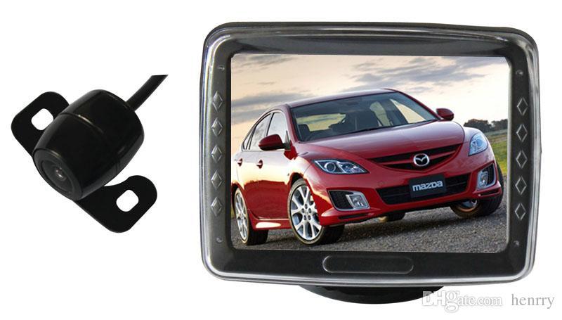 Sistema di assistenza al parcheggio intelligente della macchina fotografica di retrovisore dell'automobile PZ601 3.5 pollici Pixel 648 * 488 della macchina fotografica digitale del pannello di 3: 3 DHL libero