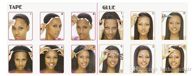 Human Hair long bob Wigs Silky Straight Virgin hair lob wig Lace Front Wigs For Black Women right side part