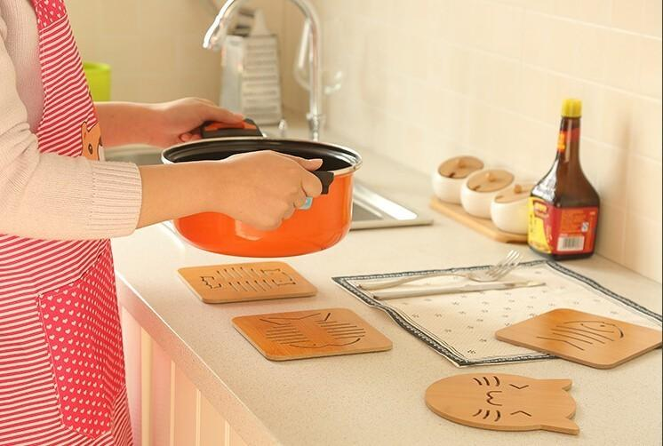 Multifunctional Hollow Heatproof Tablemat Bowl Cushion Pan Pad - Heatproof table pad