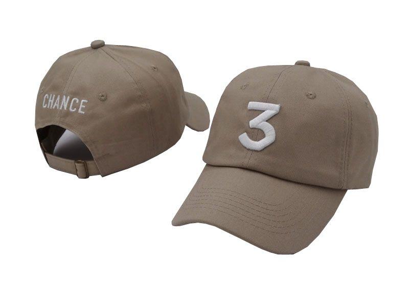 791f436af21 Black Khaki Popular Singer Chance The Rapper 3 Chance Cap Black Letter  Embroidery 3D Baseball Caps Hip Hop Streetwear Savage Snapback Hats Army Cap  Cheap ...