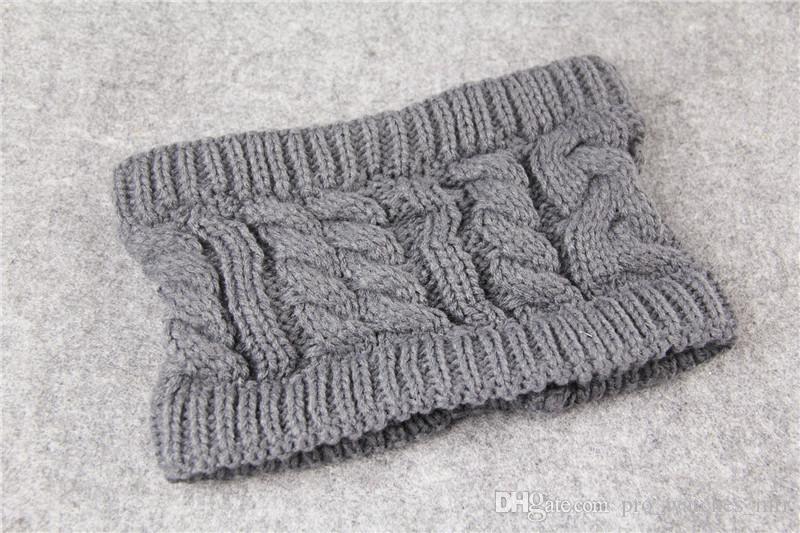 2017 mode frauen häkeln caps stirnband stricken haarband winter ohr wärmer kopf hut leere top winter hüte weihnachtsgeschenke f896-1