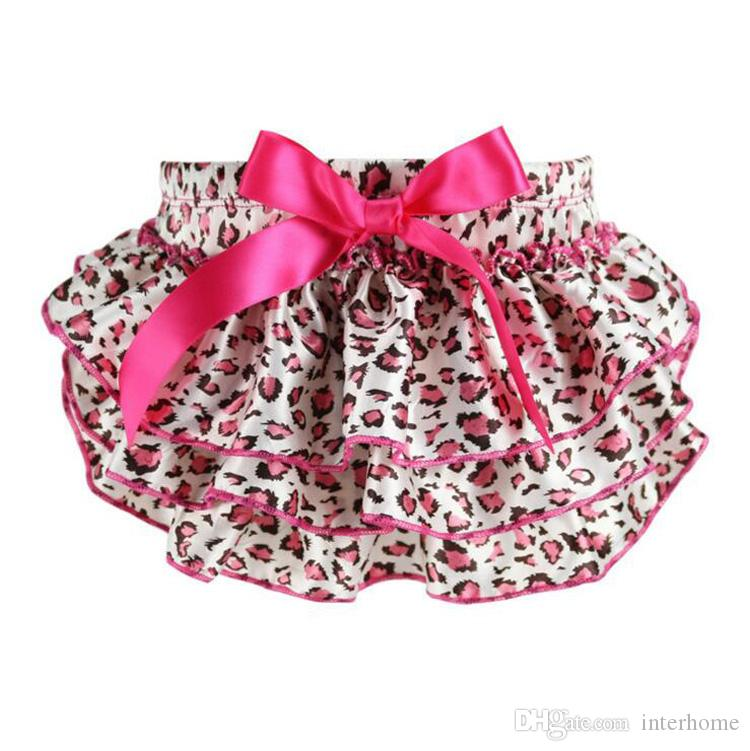 Baby Ruffled Bloomers Newborn PP Pants Infant Pettiskirt TUTU Underwear Kids Camouflage Underpants Bow Diaper Cover Panties Costumes G160