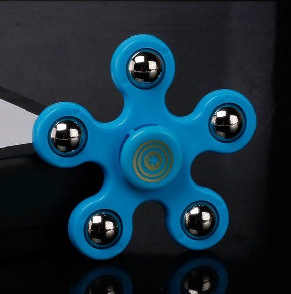 Beş Köşeli Yıldız Spinner Fidget Oyuncak El Spinner Çocuk Yetişkinler Odak Eller Meşgul Tutun Yüksek Kalite Fidget Oyuncak DHL ücretsiz kargo