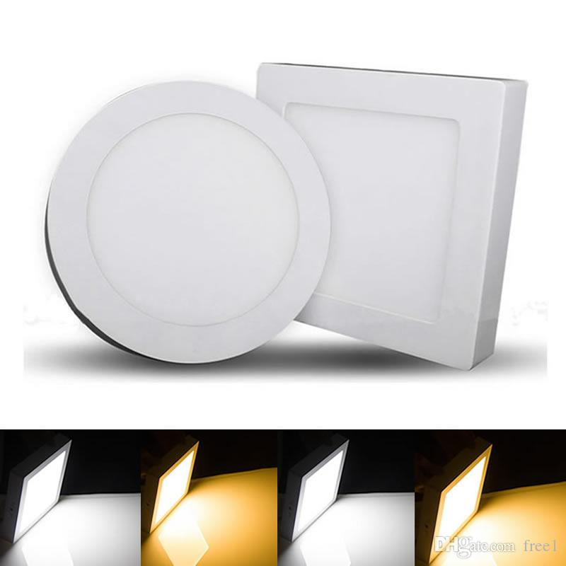 2018 Newest Led Panel Downlight 9w 15w 21w Round Square Ceiling Recessed Light Ac85 265v Smd 2835 170angle Ce Ul From Free1