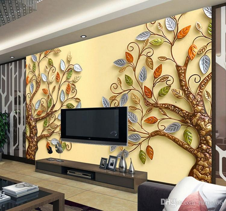 3d Stereoscopic Embossing Tree Large Mural Fantasy Tree Custom Built Living  Room Sofa Hotel Tv Background Wall Bollywood Actress Wallpaper Bollywood  Actress ... Part 43