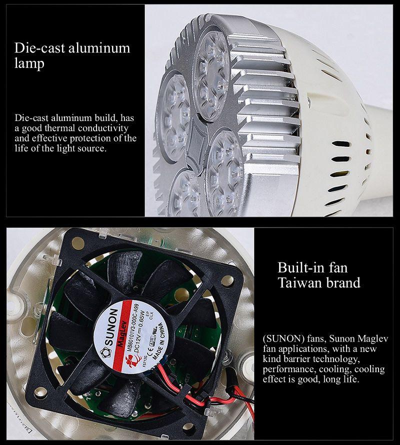 LED CREE Parça Işık 35 W Ray Işıkları Spot Giyim Ayakkabı Mağazası İç Aydınlatma 110 V 220 V Sıcak / Soğuk / Doğal Beyaz CE UL