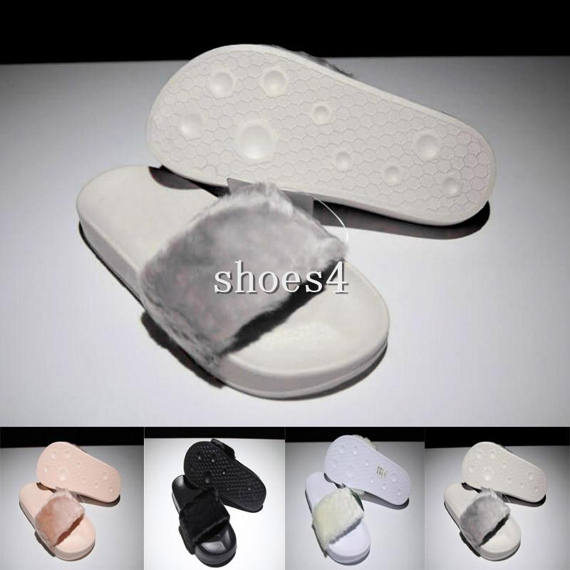 d470fd7d2b75 Come With Original Box Dust Bag Leadcat Fenty Rihanna Shoes Women Slippers  Indoor Sandals Girls Fashion Scuffs Pink Black White Grey Slide Buy Shoes  Online ...