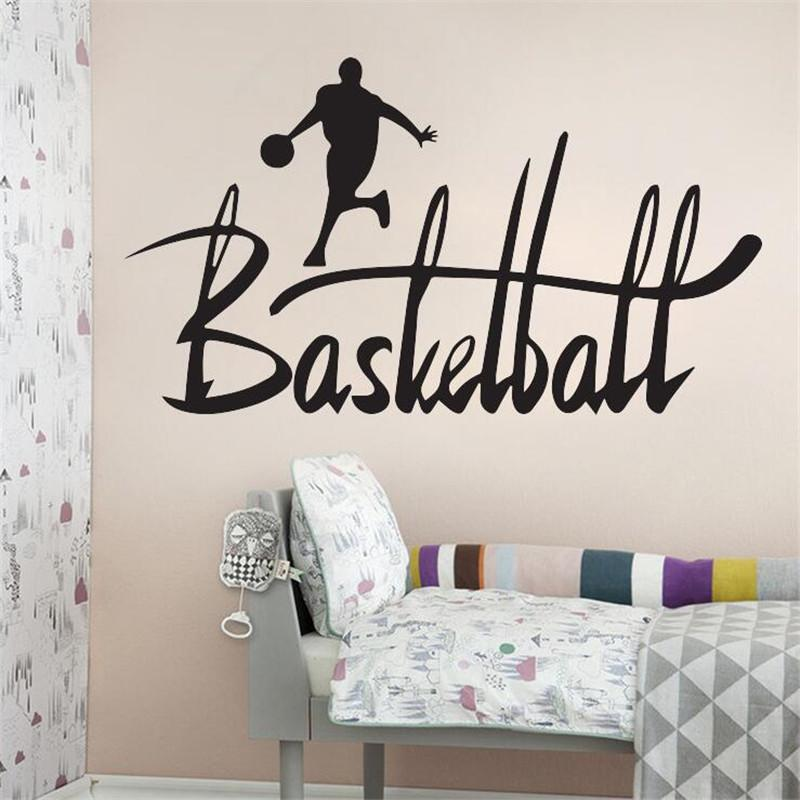 idfiaf 3d basketball wall sticker quotes art home decor art decals