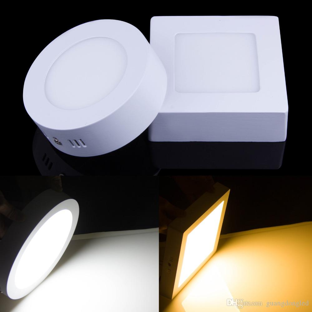 Ultra Bright 7w 12w Led Ceiling Wall Light Flush Mounted: 9W 15W 21W LED Surface Panel Wall Ceiling Down Lights Lamp