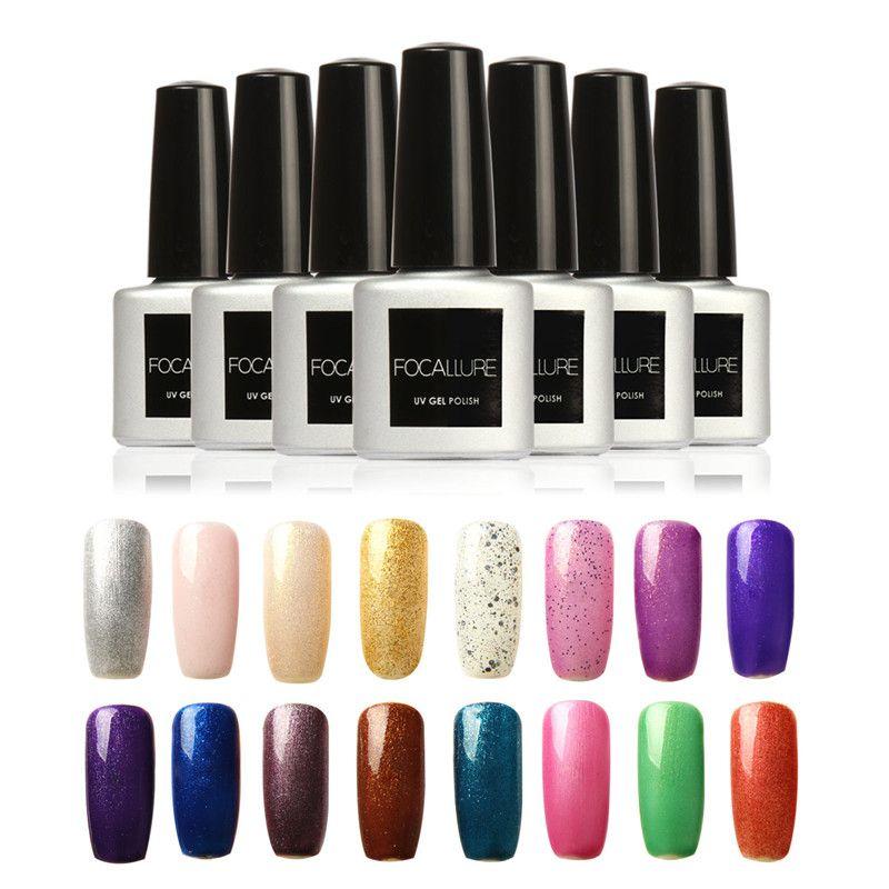 Focallure Fa Colors Uv Gel Base Top Coat Uv Lamp Nail Art Design ...