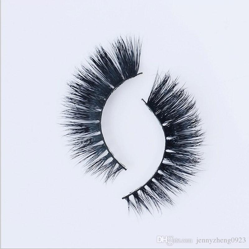 3d False Eyelash Thick Black 100 Mink False Eyelashes Makeup Tips