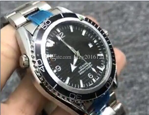 hot sale mens lry watch top brand automatic watch steel silver dive watch N8314