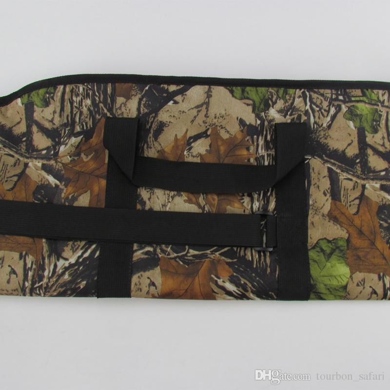 Tourbon Tactical Gun Bag Heavy Duty Tactical Gun Slip Camo Carry Bag Rifle Case for Hunting142CM