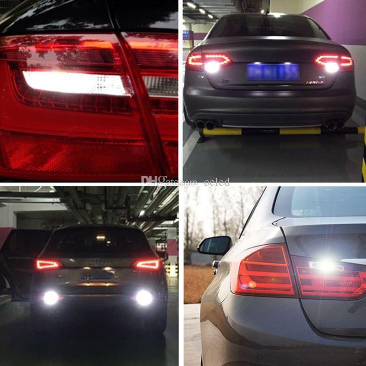 2x T15/T20/1156 15 LED Canbus Car Auto Bulb High Power White Canbus Led Bulb 3030 SMD Light Lamp Reverse Backup Lights