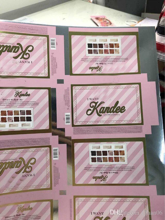 Schnell verkaufend ! Gegenübergestelltes Palatte Ich will Kandee Candy Lidschatten Palatte 15 Farben Wasserdichtes und langlebiges Palatte-Schiff
