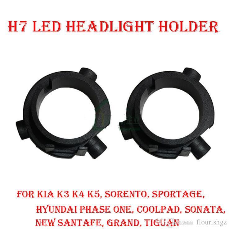 2019 H7 Led Headlight Conversion Kit Bulb Base Holder