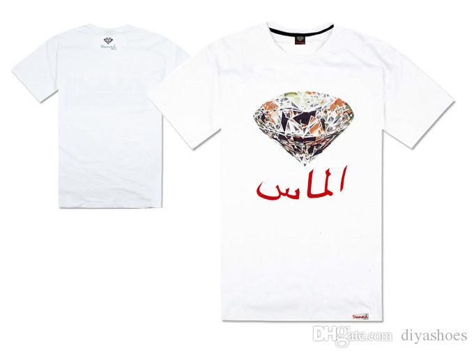 2018 nova chegada verão diamante hip hop t-shirt dos homens e mulheres de boa qualidade plus size xxxl preço de fábrica streetwear 100% algodão top quality