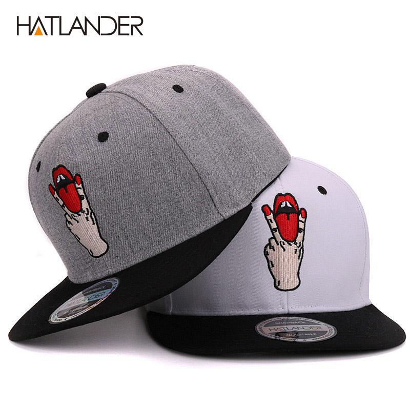 Hatlander Fashion Snapback Baseball Caps Bboy Gorras Planas Bone ... 98bf69def5fb
