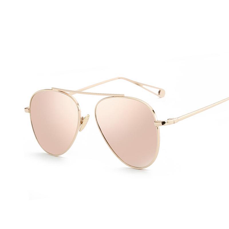 Luxury Brand Design Aviator Sunglasses Women Brand Designer Mirror Vintage Retro Sun Glasses For Women Female Lady Sunglass pSkIz5gj1P
