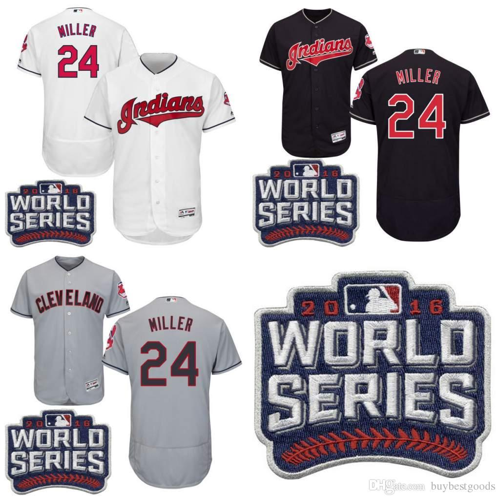 2017 mens cleveland indians 24 andrew miller white nave blue grey 2016 world series patch jersey