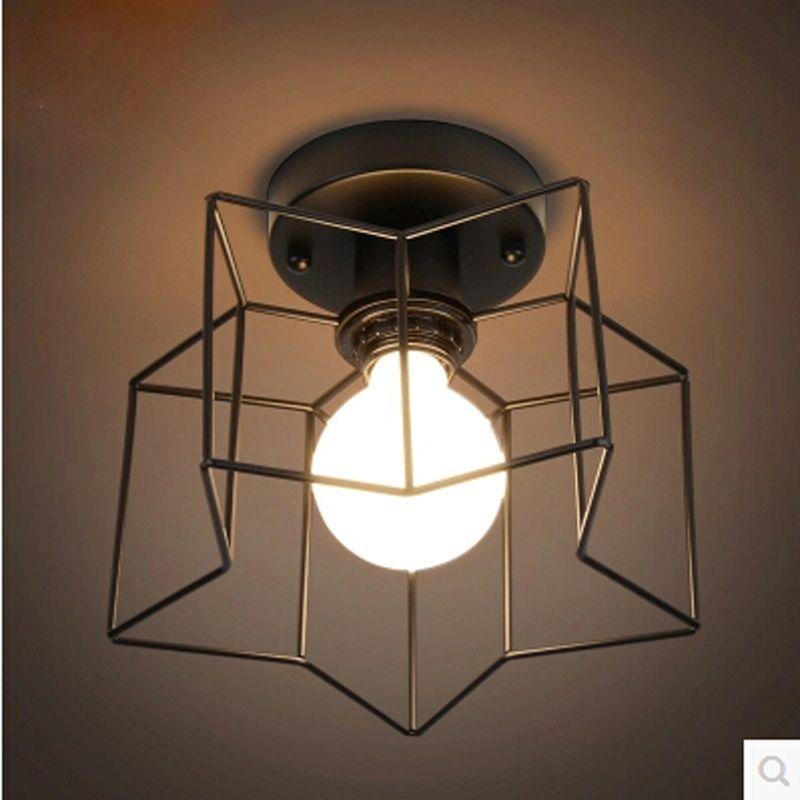 Großhandel Romantische 1 Köpfe Sterne Lamparas Techo Led Deckenleuchte  Restaurant Esszimmer Schlafzimmer Beleuchtung Von Led_home_lighting, $48.25  Auf De.