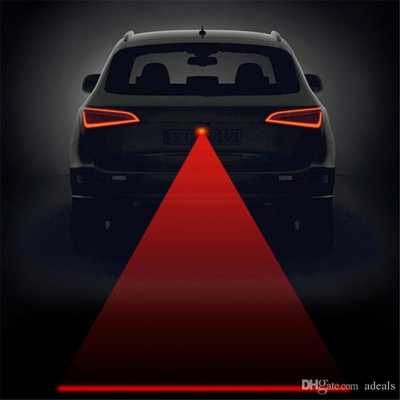 Anti Collision Rear-end Car Laser Tail 12v led car Fog Light Auto Brake auto Parking Lamp Rearing Car Warning Light