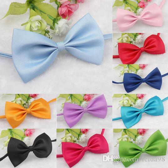 New Qualified New HOT Fashion Cute Dog Puppy Cat Kitten Pet Toy Kid Bow Tie Necktie Clothes Levert Dropship G5