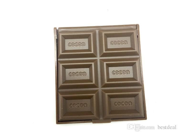 /NEW Creative cute Chocolate make-up Mirror/portable pocket cosmetic mirror/Pocket mirror/Fashion Gift/Wholesale