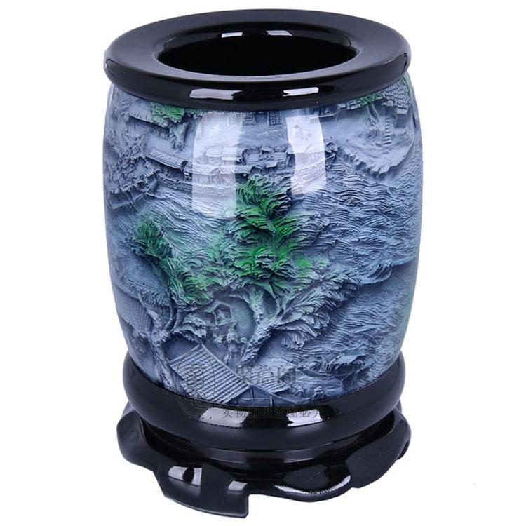 Penna sollievo cristallo spedizione riverside regalo culturale regalo souvenir degli stranieri