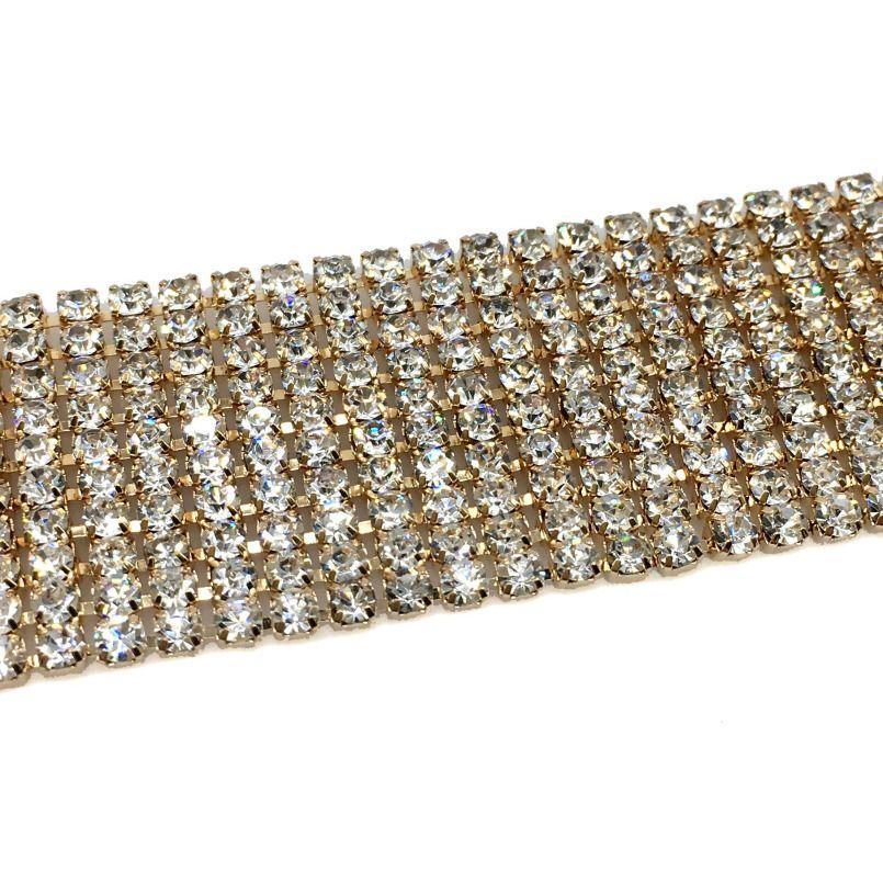 Mode Strass Halsband Aussage Halskette Frauen Luxus Kristall Halsreifen Halsketten Maxi Kragen Drehmoment Zubehör