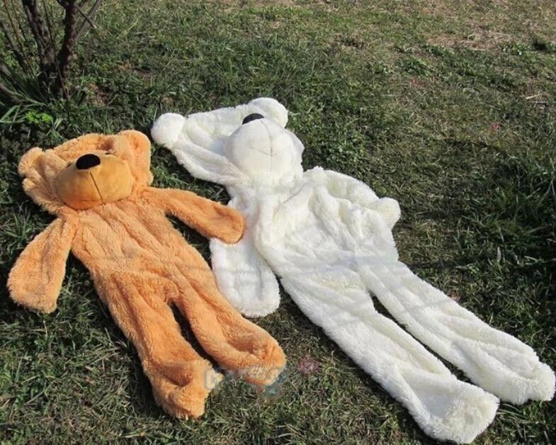 200 CM Giant Teddy Bear Skin Coat Soft Adult Coat Plush Toys Wholesale Price Friends Kids Birthday Christmas Gift