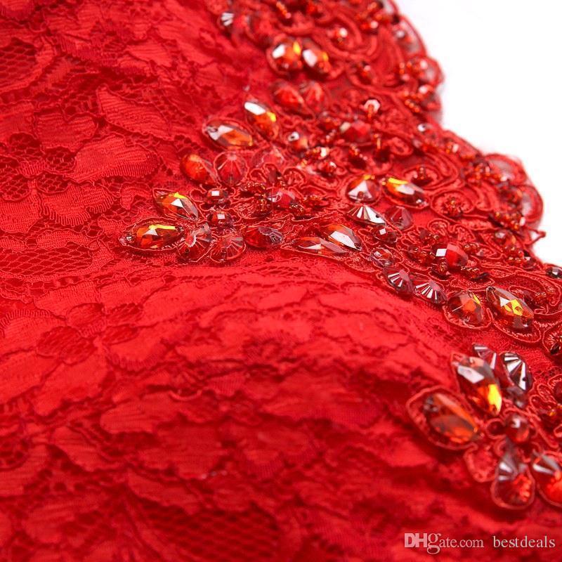 2019 Designer auf Lager Off the Shoulder Meerjungfrau Spitze Abendkleider bodenlangen Lace-up zurück Brautkleid Brautjungfer Kleid