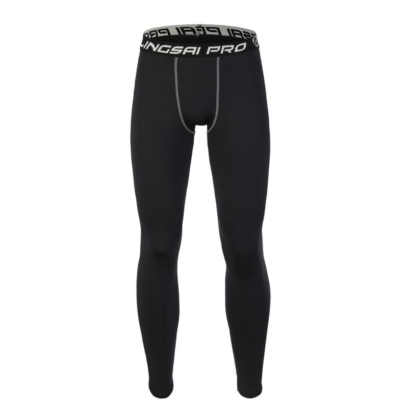 11d8987bb6ec0 2019 Wholesale Men Running Pants Quick Drying Compression Tight Long Pants  Black Trousers Joggers Trousers Slim Fitness Pants From Stem, $32.97 |  DHgate.Com