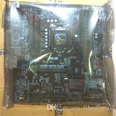 Desktop Motherboard B250 LGA1151 für ASUS PRIME B250M-PLUS DDR4 HDMI DVI VGA M.2 USB 3.1 mATX M.2 Mainboard Unterstützung G4560 i5-6100 7500 7700