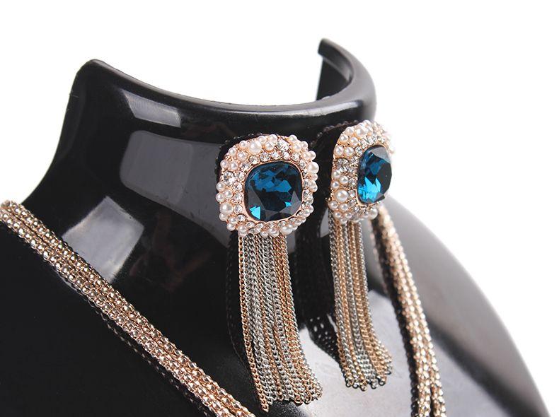 Mode bijoux affichage buste modèle avion collier porte rack portrait cadre bijoux titulaire boucles d'oreilles présentoir