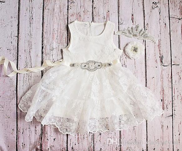 2019 NEW Halloween Easter Birthday Flower Girl Dress, Rustic Lace Flower Girl Dress, baby lace dress, , Toddler Dresses, Country Dres