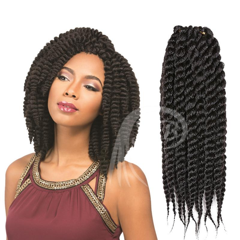Wholesale Synthetic X Pression Curly Crochet Braids Hair 14 16