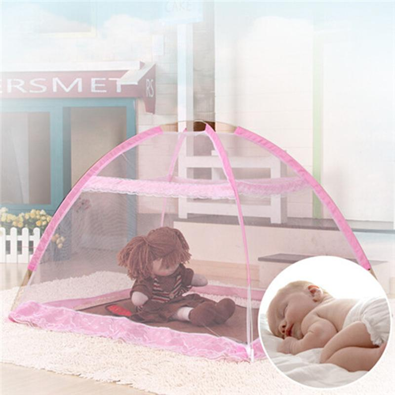 Wholesale Blue Pink 3 Sizes Baby Bed Mosquito Net Tent Children Room Play Tent Baby Bed Canopy Portable Baby Crib Netting Moustiquaire Crib Net For Cats Top ... : baby crib net canopy - memphite.com