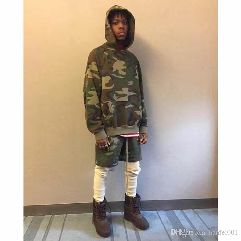 6921efb413b5f 2019 17SS FEAR OF GOD Hooded Sweatshirt Camouflage FOG Men Women Couple Top  Coats Hoodies Fashion Hip Hop Good Quality HFWY024 From Hanfei001, ...