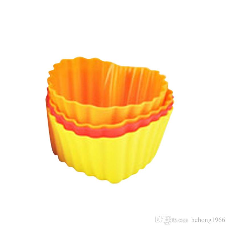Kuchenform Silikagel Backenwerkzeuge Backen Liebe Form Silikon Gebäck Form Nicht Giftig Harmlos Direkte Deal 7 6qt C